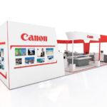Canon Özel Tasarım Ahşap Fuar Standı
