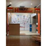 Bilin Humanist Peryön İK Kongresi Octanorm Standı