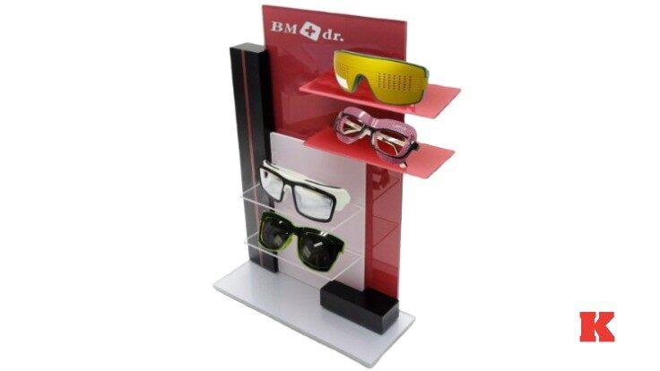 Pleksi Gözlük Standı