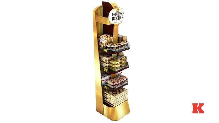 ayaklı Çikolata Standı Kullanımı