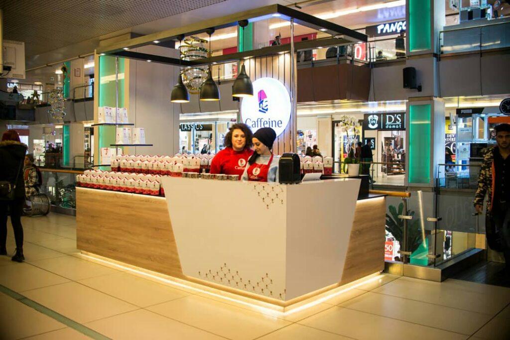 Caffeine Satış Kiosku