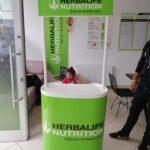 Herbalife Oval Tanıtım Standı