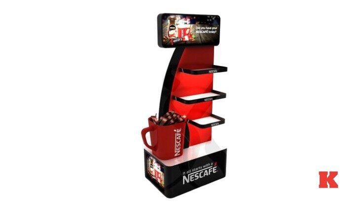 Metal Kahve Stand