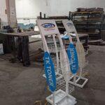 Ayaklı Metal Tel Kartuş Toner Kırtasiye Elektronik Mağaza Standı